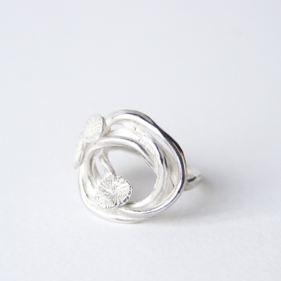Fairy Ring sterling silver