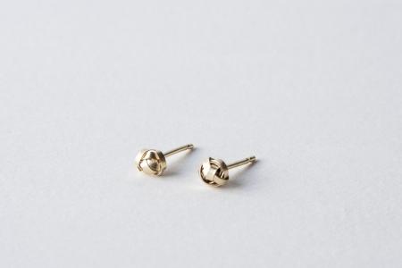 Gold Scribble Earrings